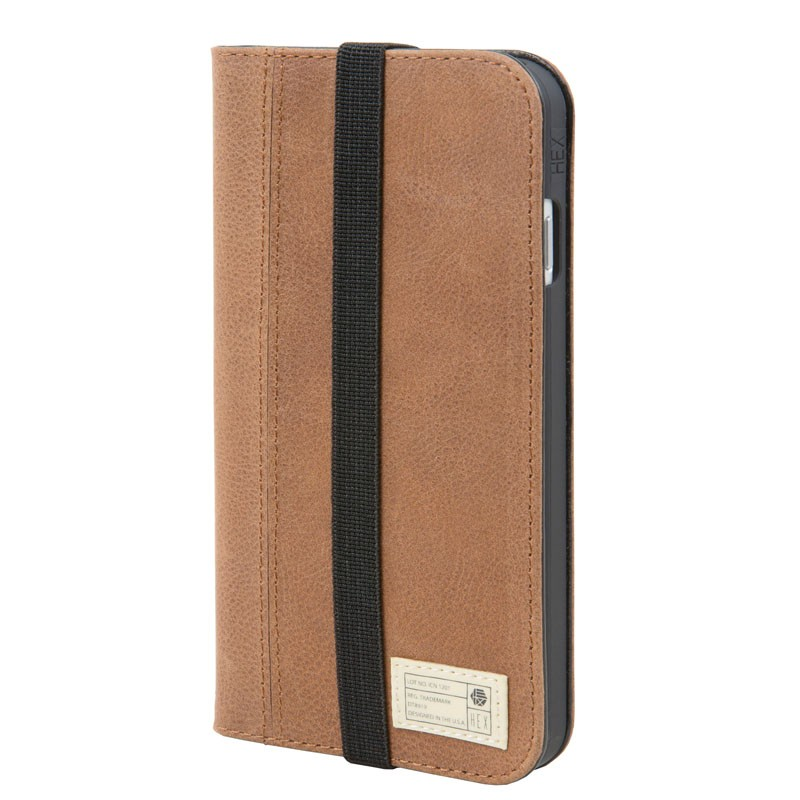 Hex Icon Wallet iPhone 7 Brown - 1