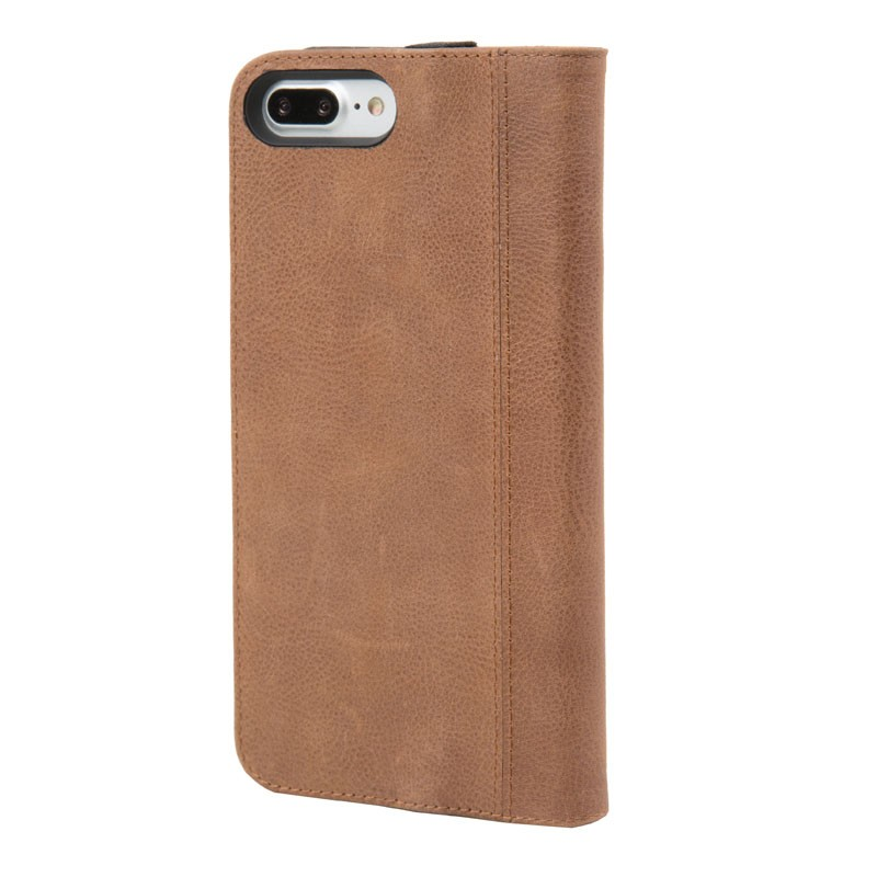 Hex Icon Wallet iPhone 7 Plus Brown - 2