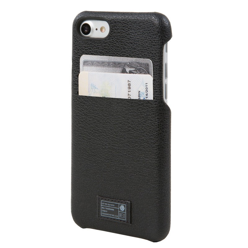 Hex Solo Wallet iPhone 7 Black - 1
