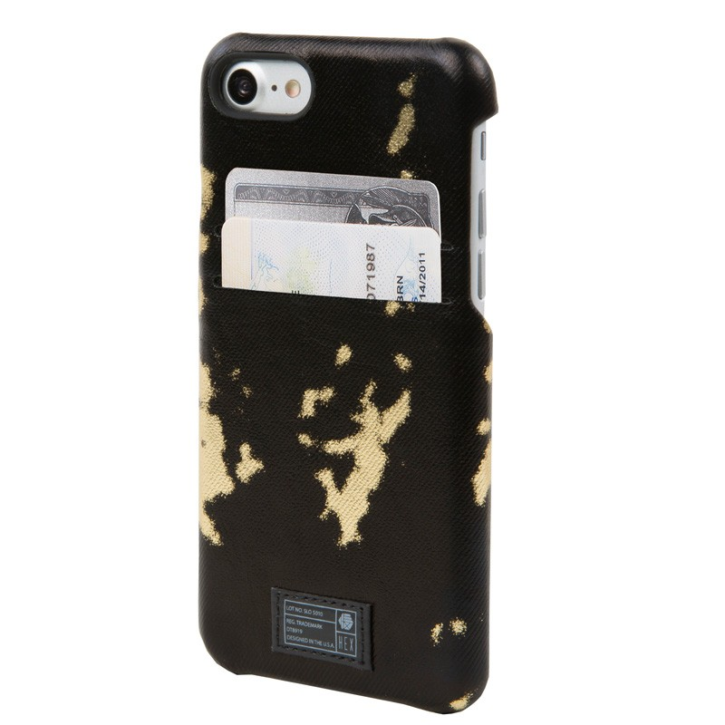 Hex Solo Wallet iPhone 7 Black/Gold - 1