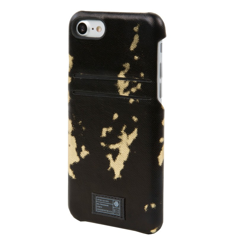 Hex Solo Wallet iPhone 7 Black/Gold - 2