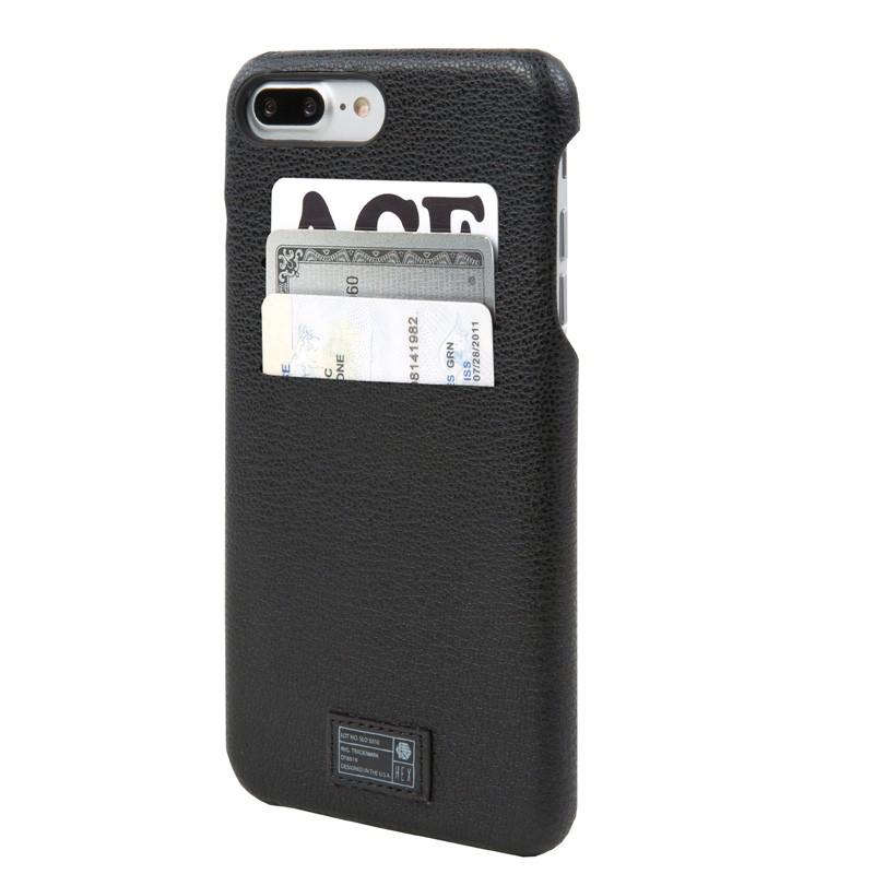 Hex Solo Wallet iPhone 7 Plus Hoesje Black - 1