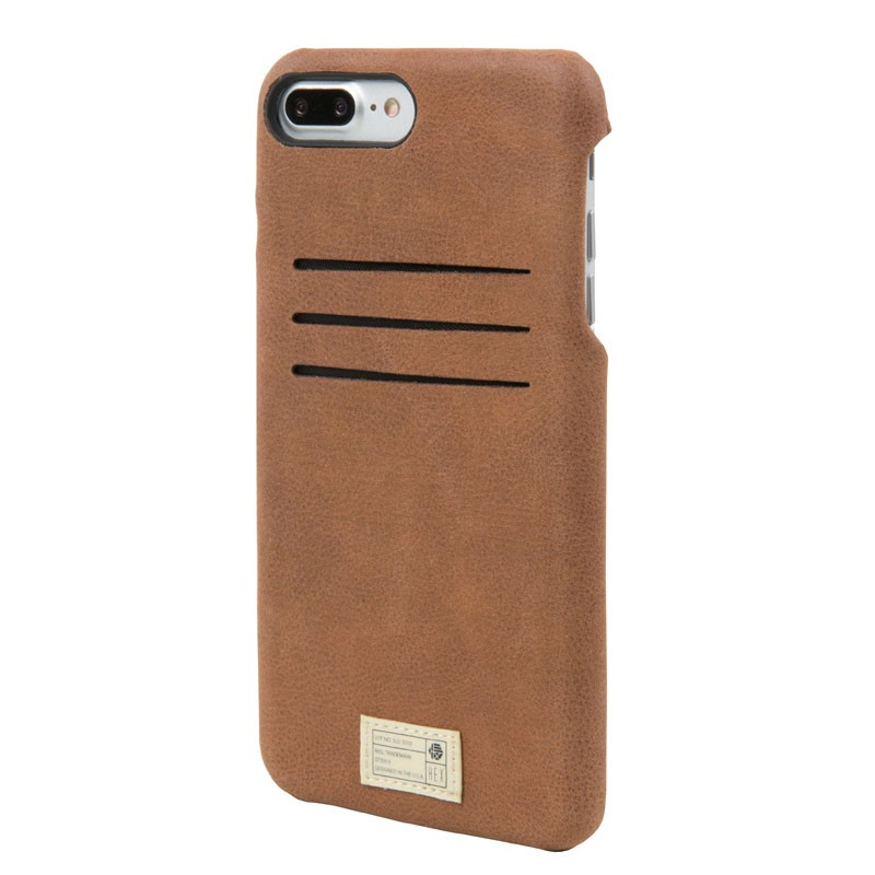 Hex Solo Wallet iPhone 7 Plus Hoesje Brown - 2