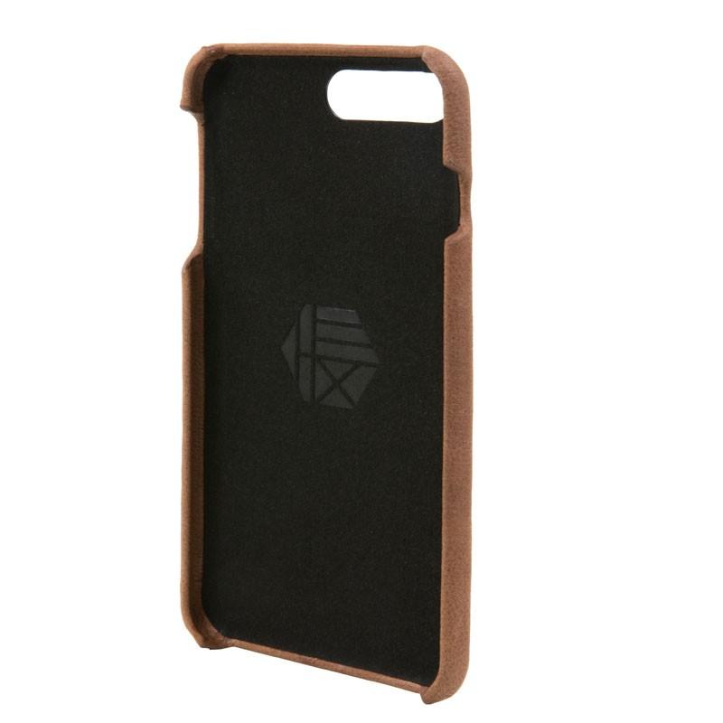 Hex Solo Wallet iPhone 7 Plus Hoesje Brown - 4
