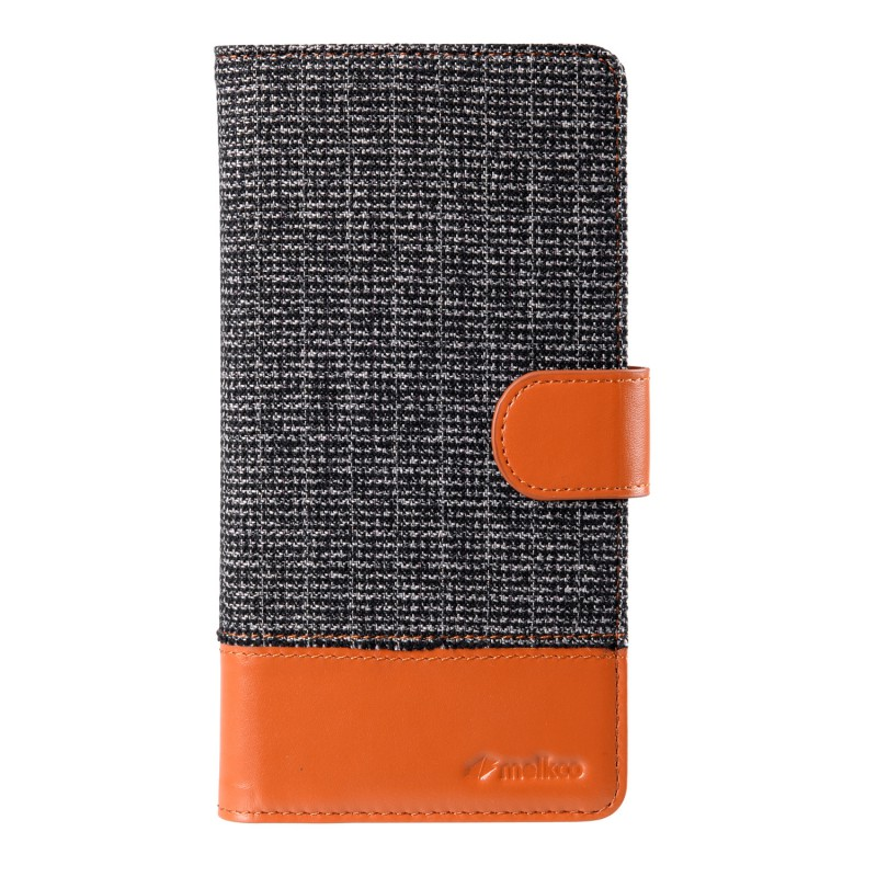 Melkco Holmes Wallet Case iPhone 6/6S Grey/Brown - 1