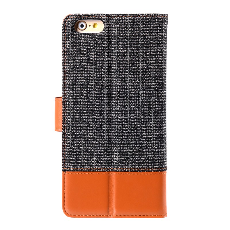 Melkco Holmes Wallet Case iPhone 6/6S Grey/Brown - 2