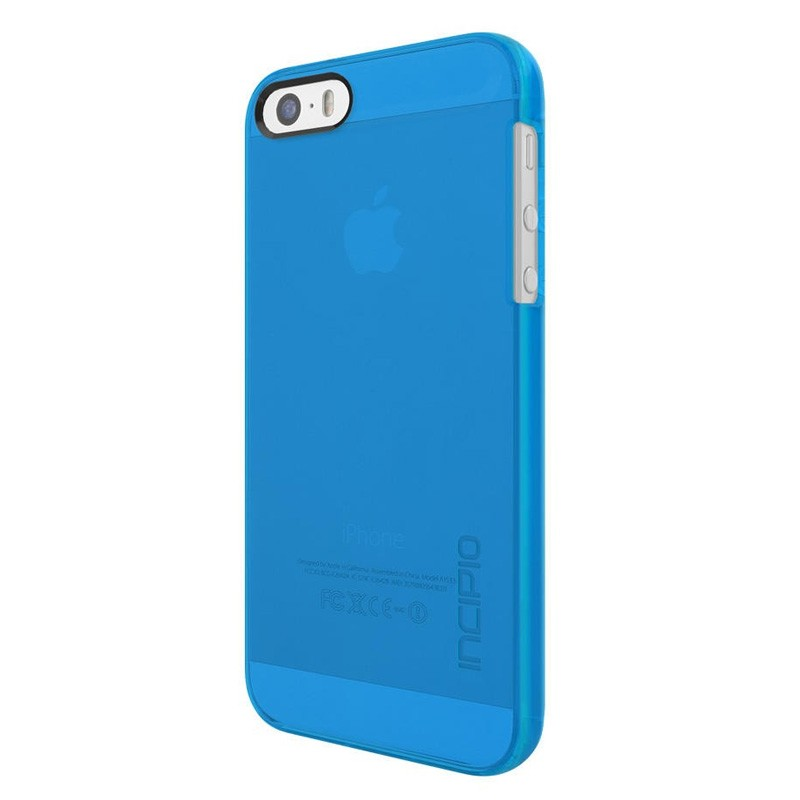 Incipio Feather Pure iPhone SE / 5S / 5 Cyan Blue - 2