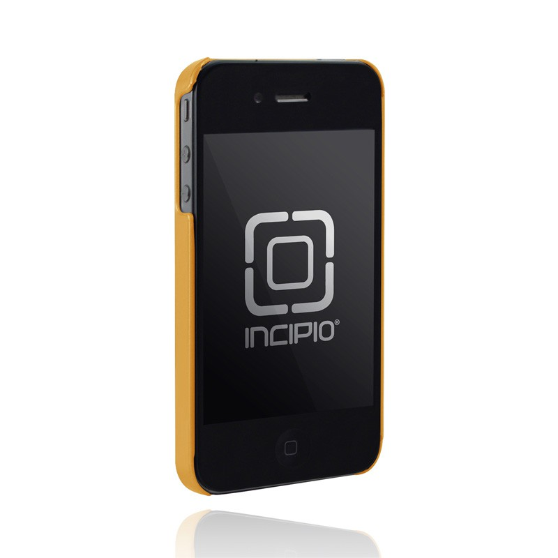 Incipio Feather iPhone 4(S) Metallic Orange - 2