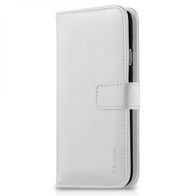 Itskins – Wallet Book iPhone SE / 5S / 5 - white 01