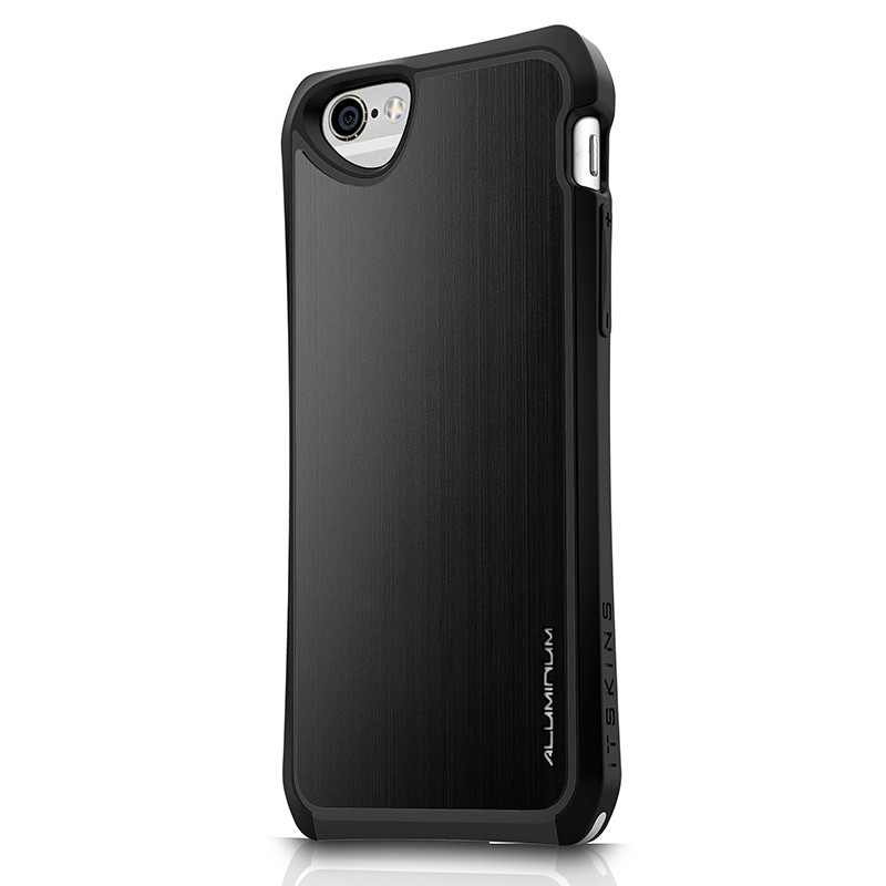 Itskins - Fusion Alu Core iPhone 6 / 6S plain black 01