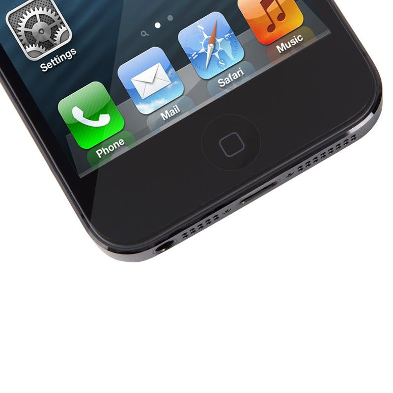 Moshi iVisor XT Glossy iPhone 5/5S/5C Black - 2
