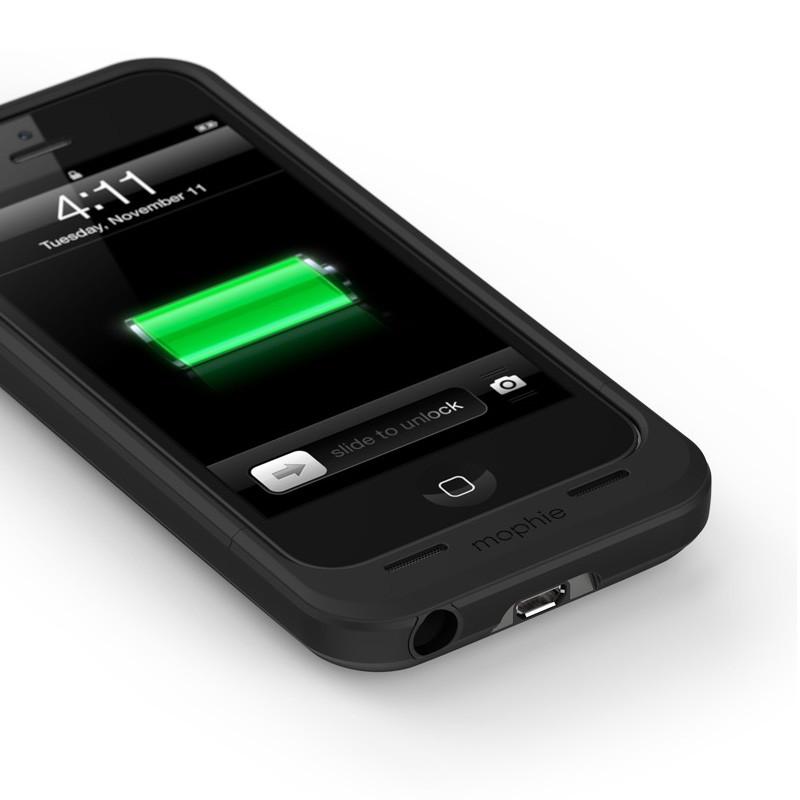 mophie juice pack air iPhone 5 black - 2