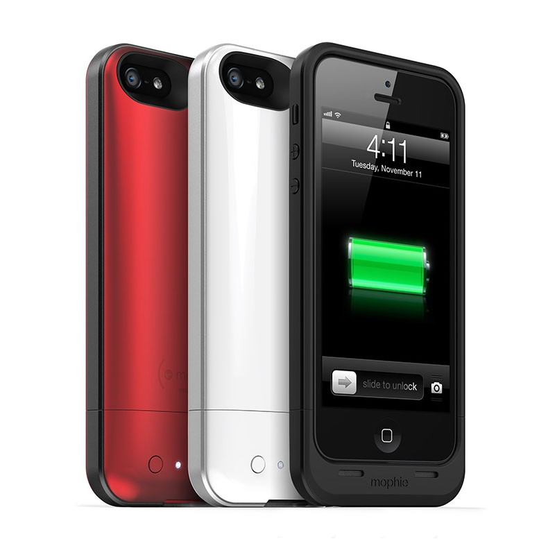 mophie juice pack air iPhone 5 white - 3