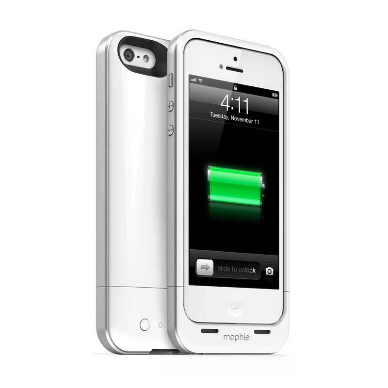 mophie juice pack air iPhone 5 white - 1