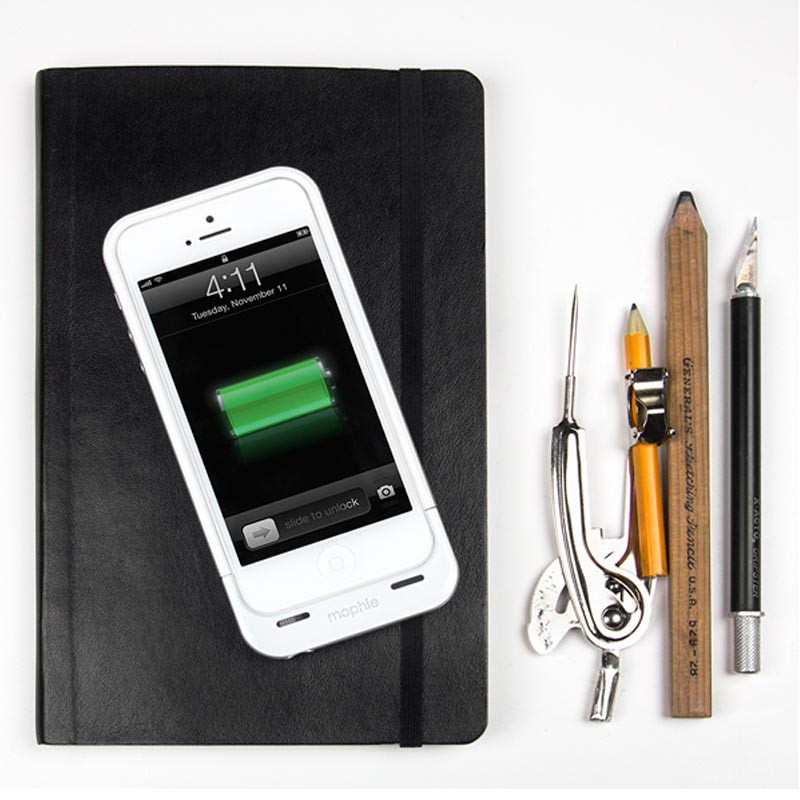 mophie juice pack air iPhone 5 white - 2