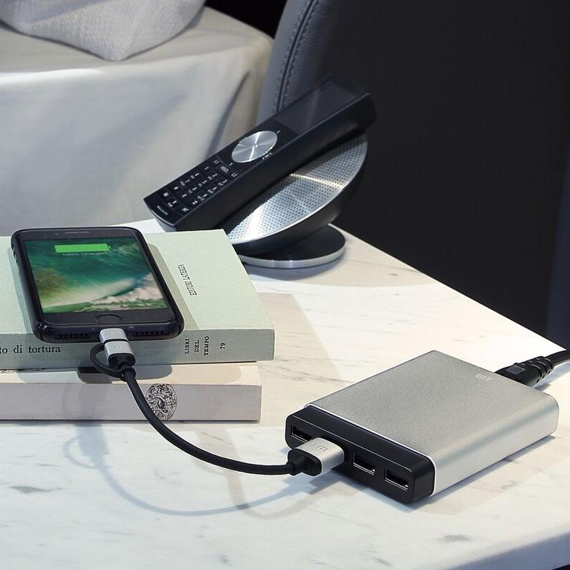 Just Mobile - AluCharge oplaadstation met 4 usb-poorten 08