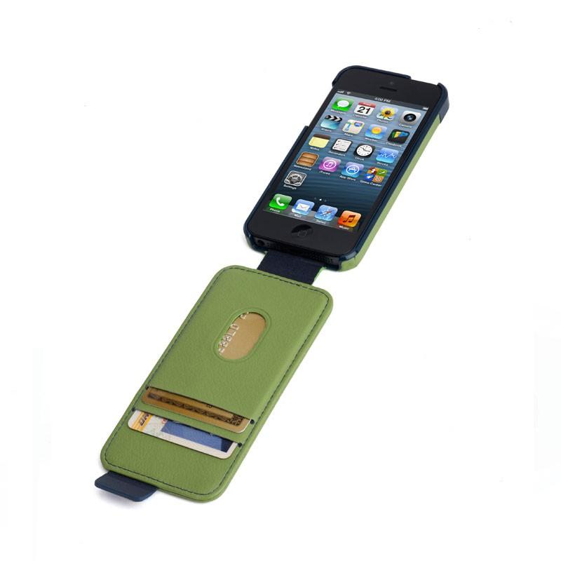 Kensington Flip Wallet iPhone 5 (Green Blue) 01