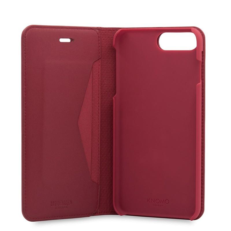 Iphone 7 plus leather folio case