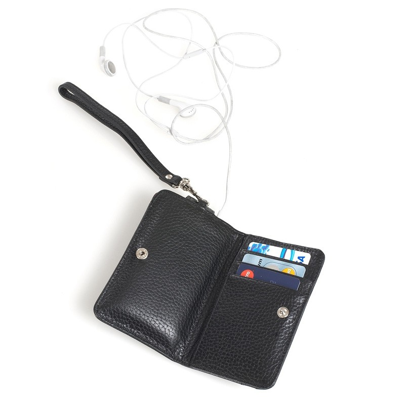 Knomo Wristlet iPhone Black 4