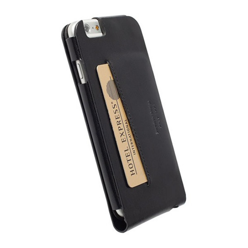 Krusell Kalmar Wallet Case iPhone 6 Black - 2