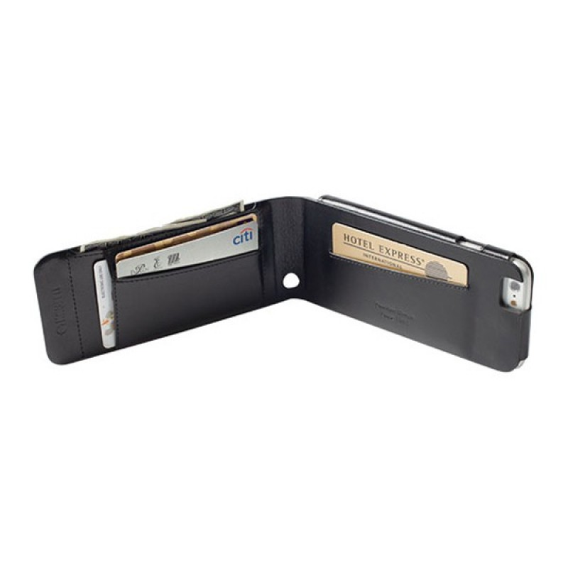 Krusell Kalmar Wallet Case iPhone 6 Black - 5