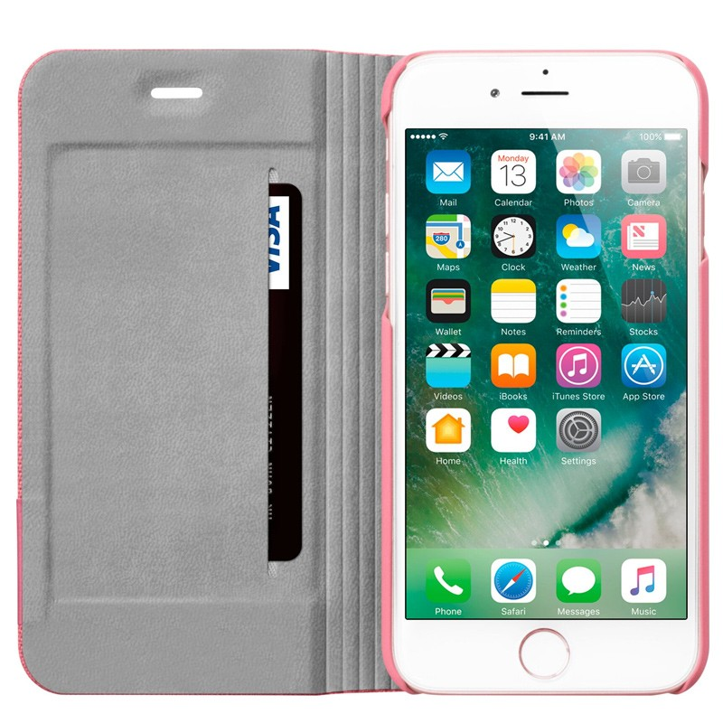 LAUT Apex Knit iPhone 7 Pink 06