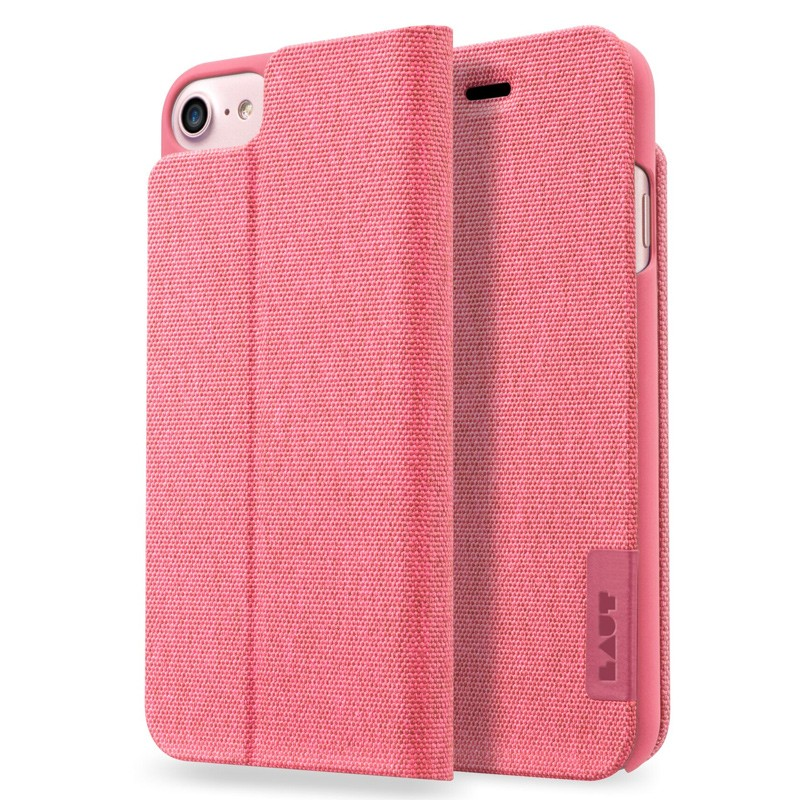 LAUT Apex Knit iPhone 7 Plus Pink 01