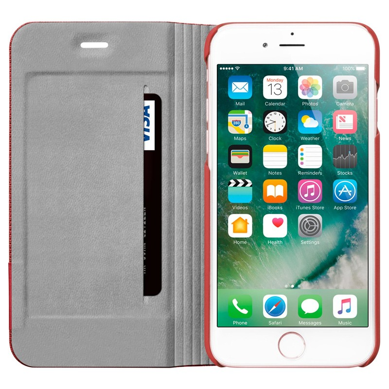 LAUT Apex Knit iPhone 7 Plus Red 06
