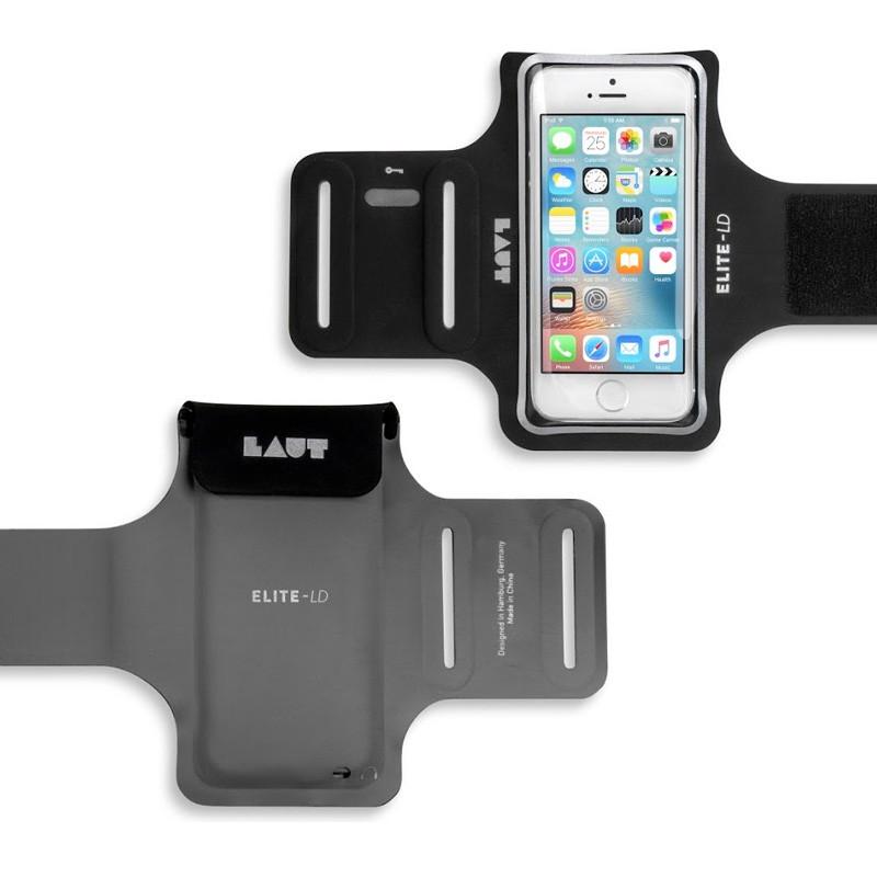 LAUT Elite-LD Sport Armband iPhone SE / 5S / 5 Black - 2