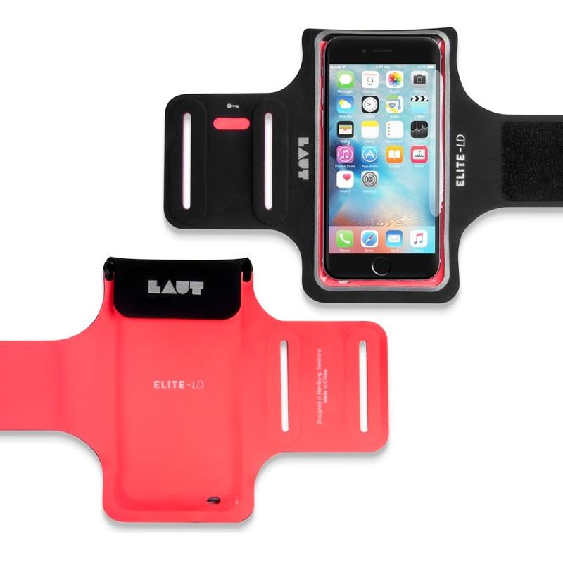 LAUT Elite-LD Sport Armband iPhone 6 / 6S Pink - 2