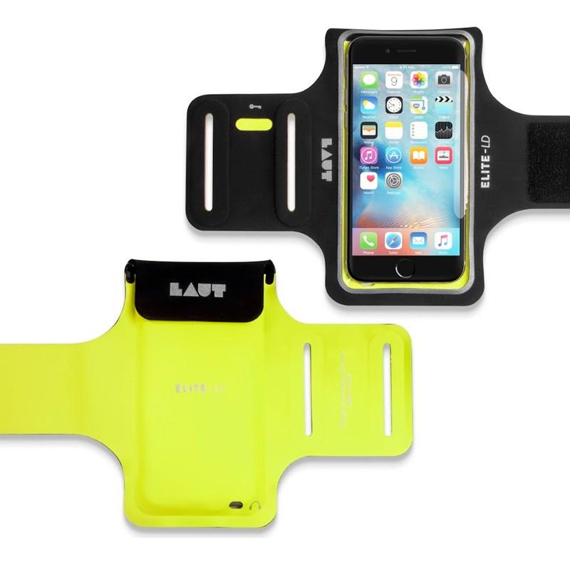 LAUT Elite-LD Sport Armband iPhone 6 / 6S Yellow - 2