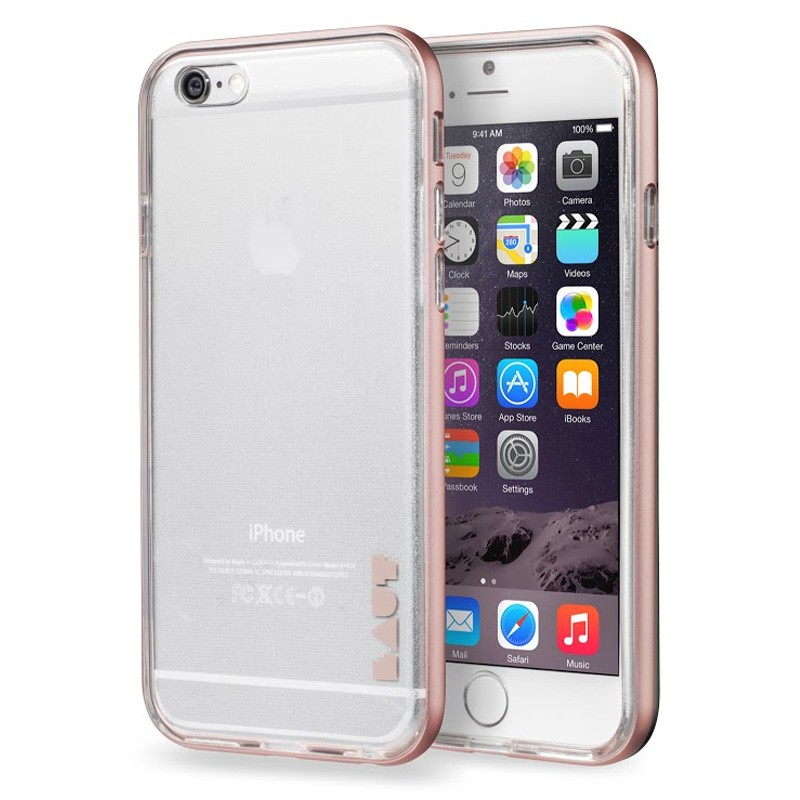 LAUT Exo Frame iPhone 6 / 6S Rose Gold - 1