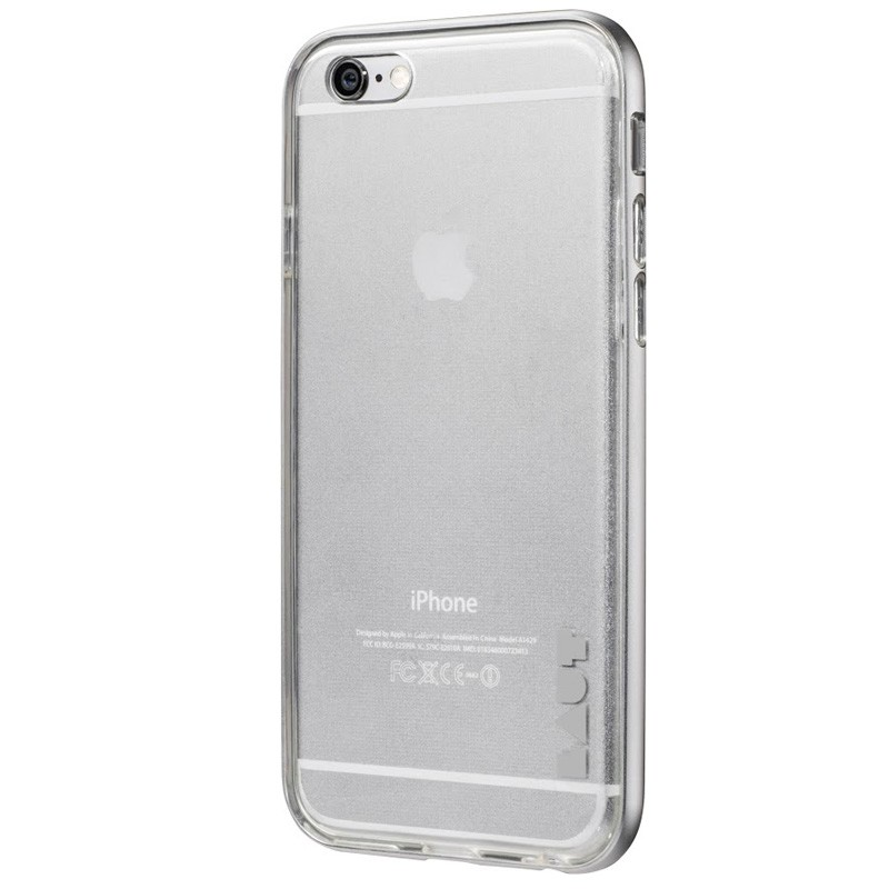 LAUT Exo Frame iPhone 6 / 6S Silver - 3