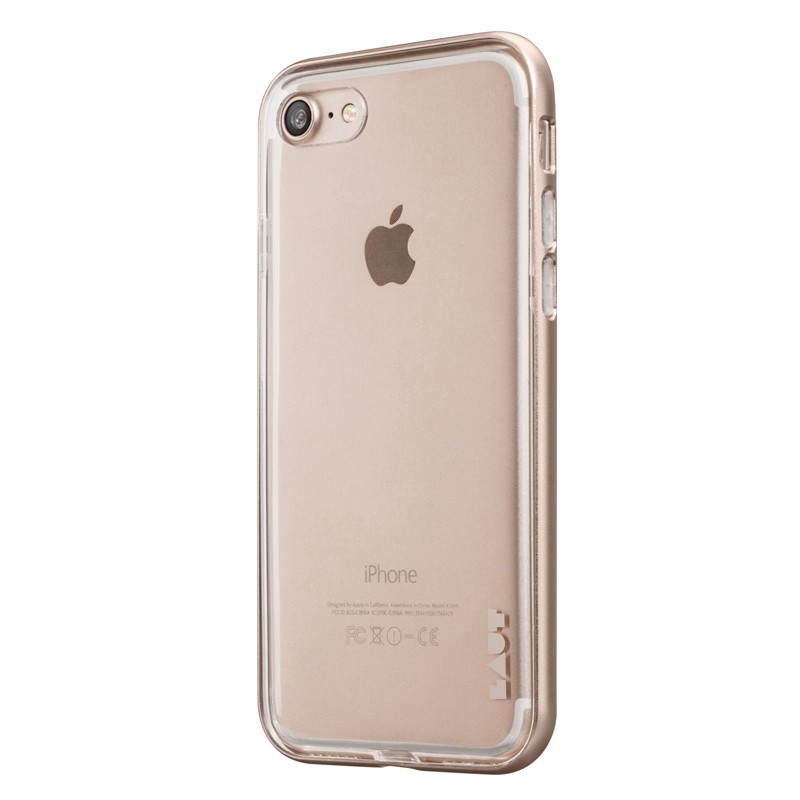 LAUT Exo Frame iPhone 7 Plus Gold 02