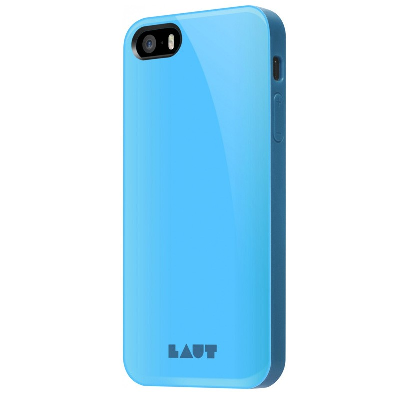 LAUT Huex iPhone SE / 5S / 5 Blue - 1
