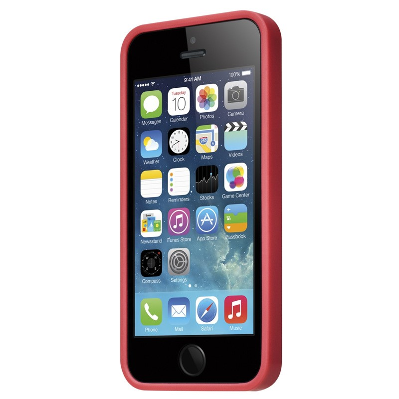 LAUT Huex iPhone SE / 5S / 5 Red - 1