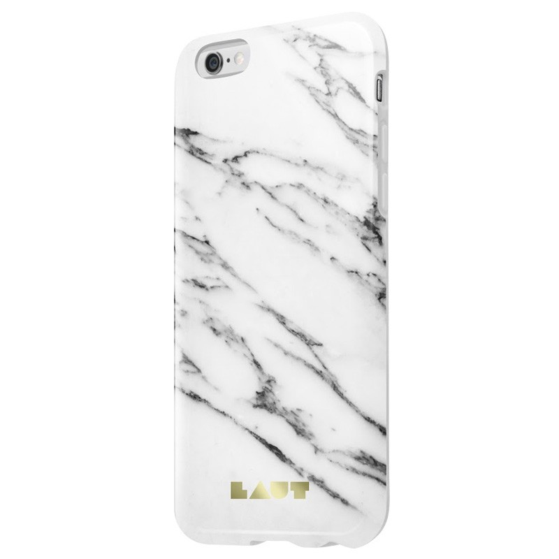 LAUT Huex Marble iPhone 6 / 6S White - 1