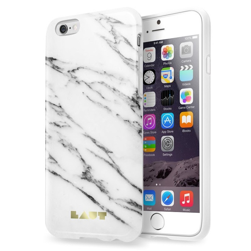 LAUT Huex Marble iPhone 6 / 6S White - 3