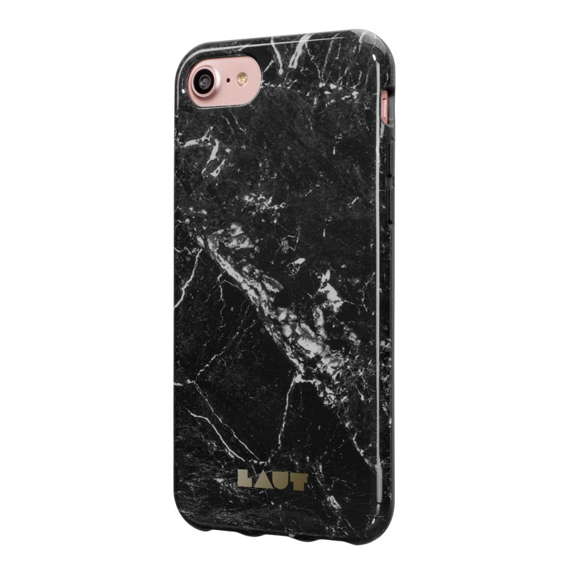 LAUT Huex Marble iPhone 7 Plus Black Marble 02