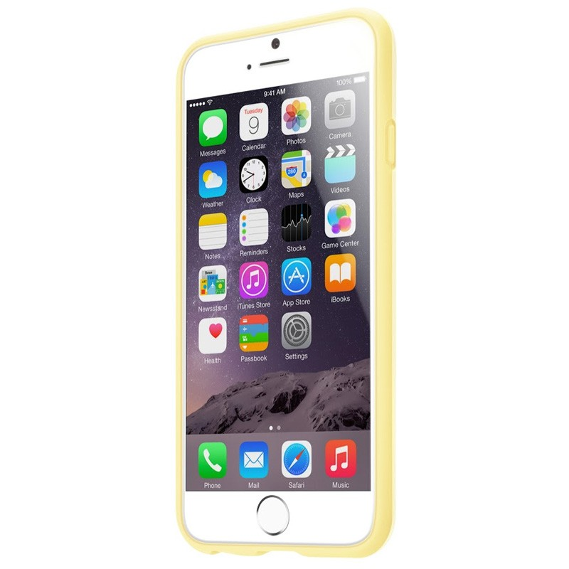 LAUT Huex Pastels iPhone 6 / 6S Yellow - 2