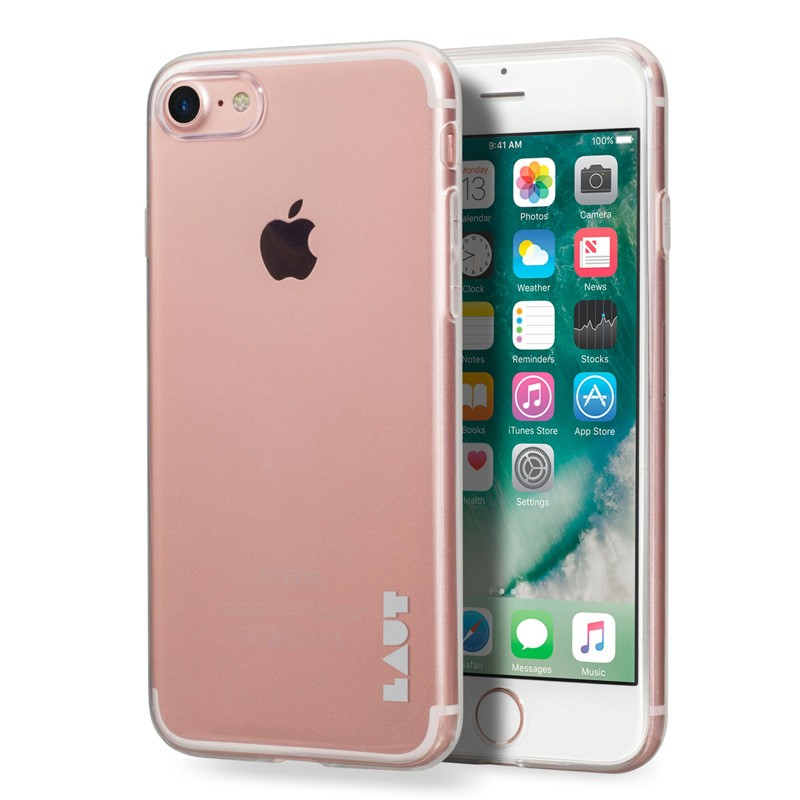 LAUT - Lume Hoesje iPhone 7 Clear 01