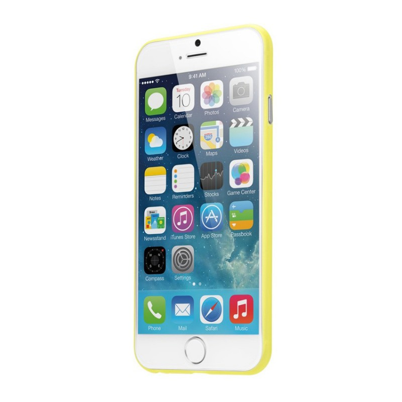 LAUT SlimSkin iPhone 6 Plus Yellow - 2
