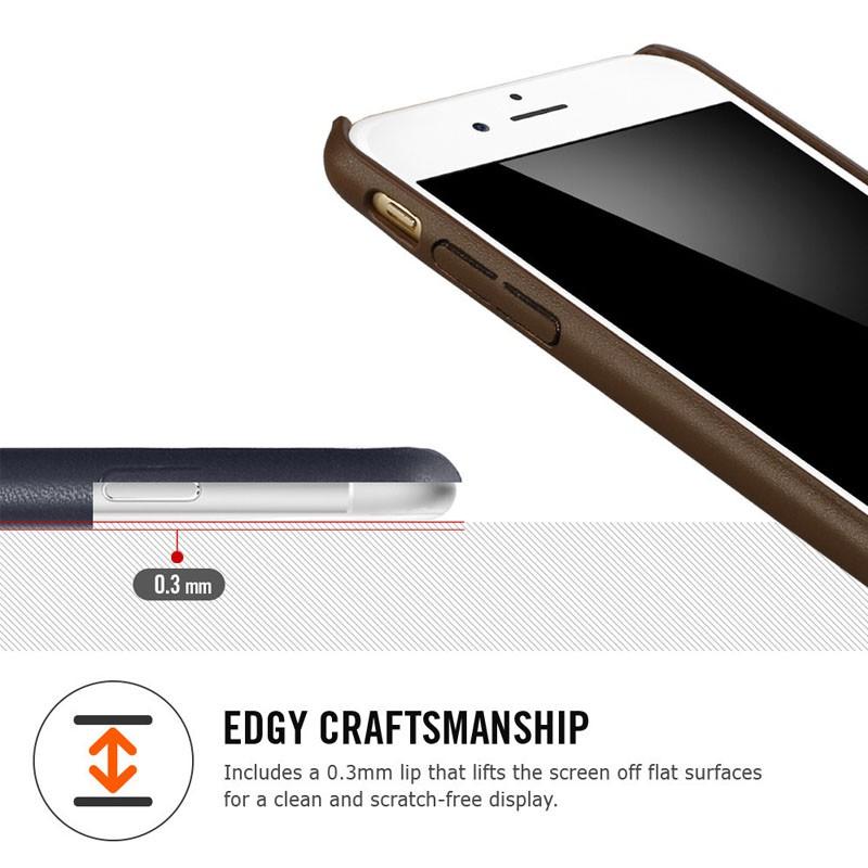 Spigen Leather Fit Case iPhone 6 Brown - 2