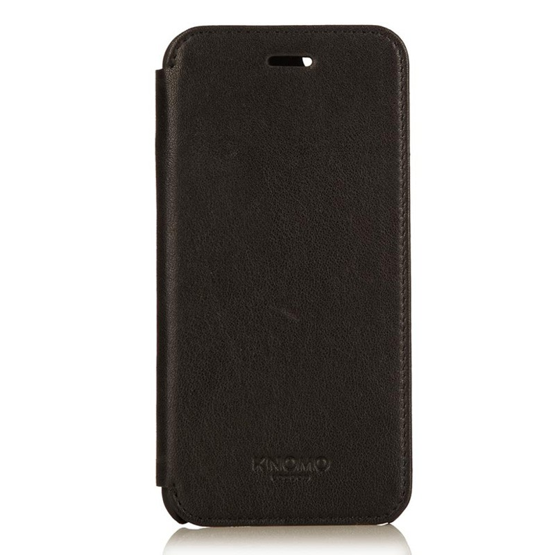 Knomo Leather Folio iPhone 6 Plus Black - 3