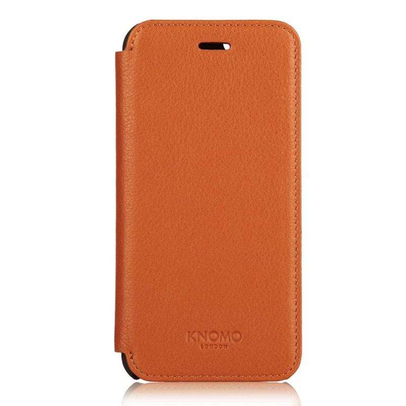 Knomo Leather Folio iPhone 6 Plus Brown - 3