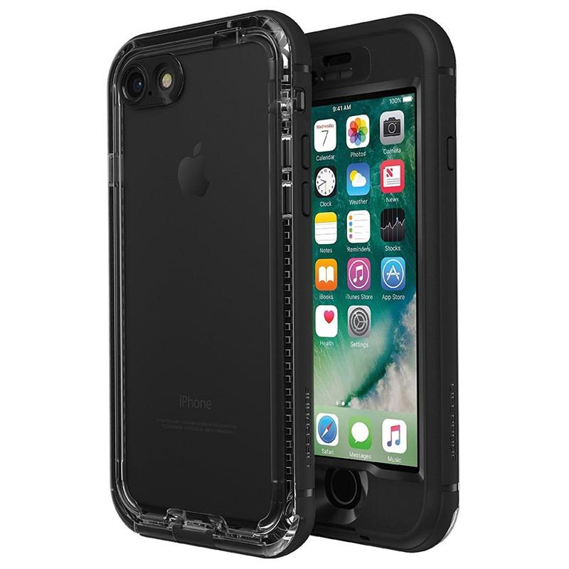 Lifeproof Nuud Case iPhone 7 Black - 01