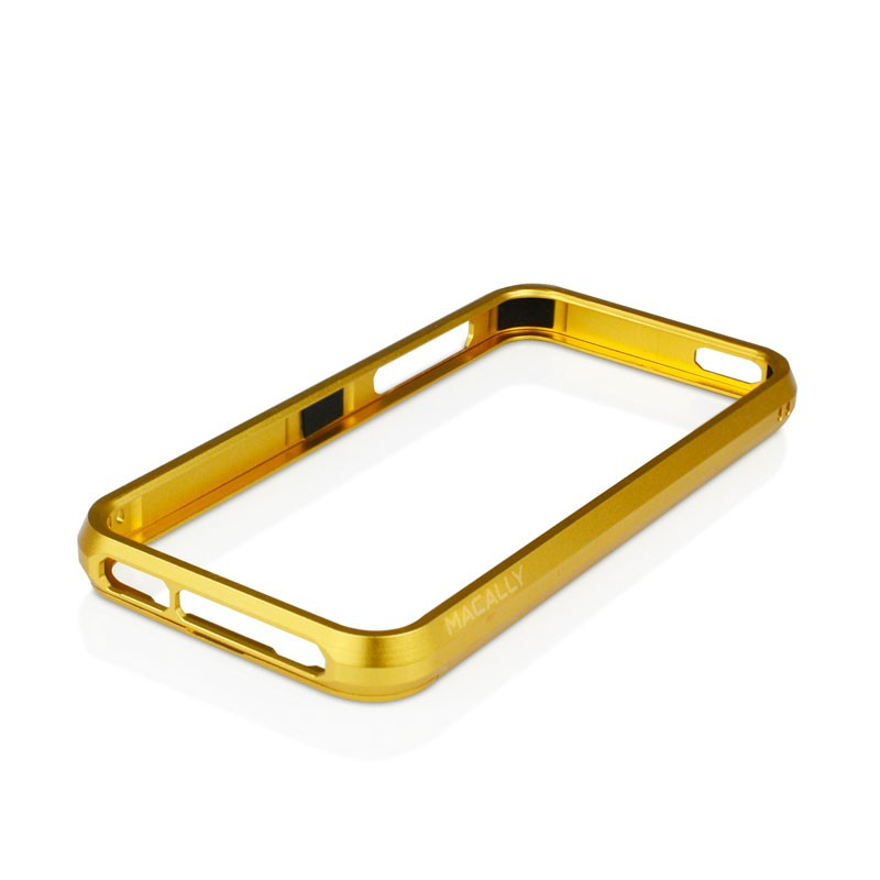 Macally Aluminium Frame iPhone 5 (Gold) 01