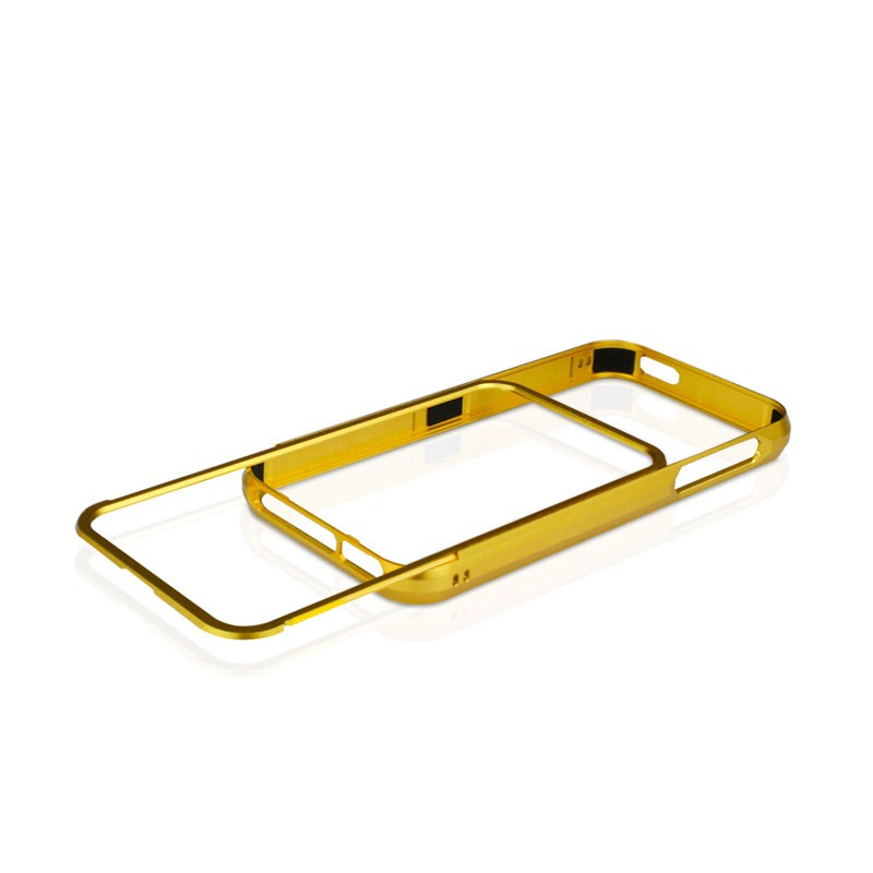 Macally Aluminium Frame iPhone 5 (Gold) 02