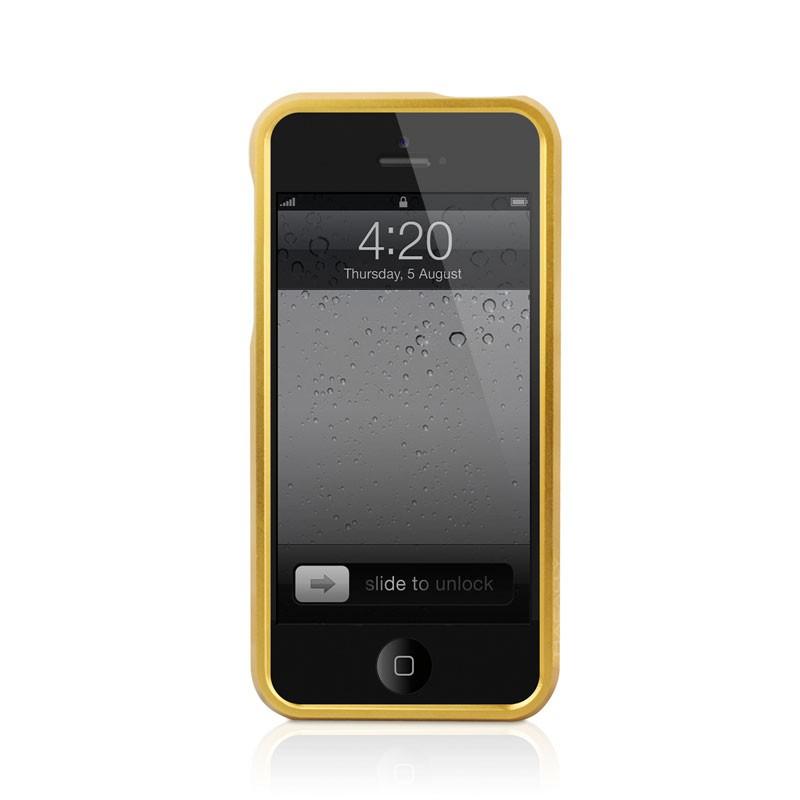 Macally Aluminium Frame iPhone 5 (Gold) 03