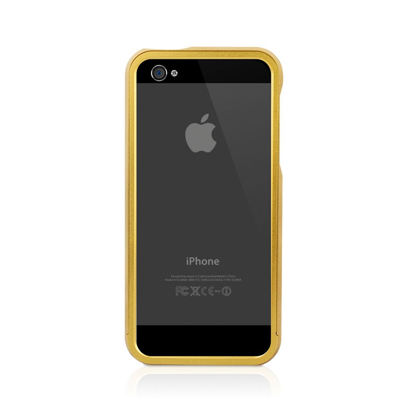 Macally Aluminium Frame iPhone 5 (Gold) 04